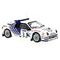 IXO Ford RS200 - 1986 RAC Rally - #2 S. Blomqvist 1:43