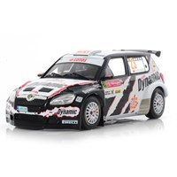 IXO Skoda Fabia S2000 - 2010 Rally of Portugal - #23  M .Kociuszko 1:43