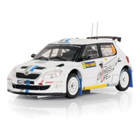 IXO Skoda Fabia S2000 - 2012 Rally of Sweden - #60 S. Ogier 1:43