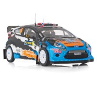 IXO Ford Fiesta RS WRC - 3rd 2012 Rally of Sweden - #15 M. Ostberg 1:43