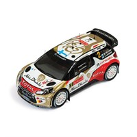 IXO Citroen DS3 WRC - 2nd 2013 Rally of Portugal - #2 M. Hirvonen 1:43