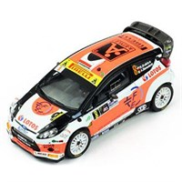 IXO Ford Fiesta RS WRC - 2014 Monza Rally - #8 R. Kubica 1:43