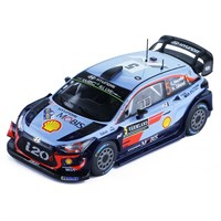Hyundai i20 WRC - 1st 2018 Rally Sweden - #5 T. Neuville 1:43