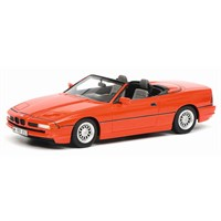 Schuco BMW 850i Cabriolet - Red 1:18