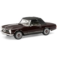 Schuco Mercedes 280 SL - Dark Red 1:18