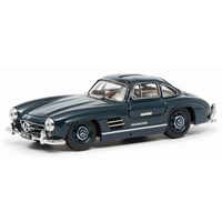 Schuco Mercedes 300 SL Coupe - Blue 1:43
