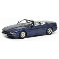 Schuco BMW 850 Ci Convertible - Blue 1:43