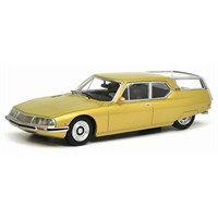 Schuco Citroen SM Shooting Brake - Yellow 1:43