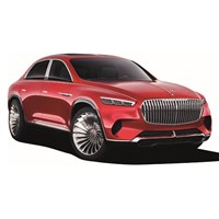 Schuco Mercedes Maybach Vision Ultimate - Red 1:43