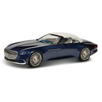 Schuco Mercedes Maybach Vision 6 Closed Cabriolet - Blue 1:43