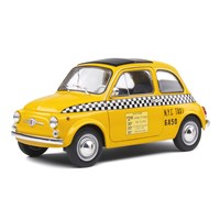 Solido Fiat 500 1965 - New York City Taxi 1:18