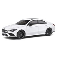 Solido Mercedes CLA Coupe AMG 2019 - White 1:18