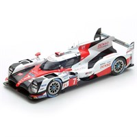 Toyota TS050 Hybrid - 2017 Le Mans 24 Hours - #7 1:18