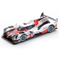 Toyota TS050 Hybrid - 2017 Le Mans 24 Hours - #8 1:18
