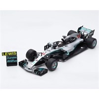 Spark Mercedes F1 W09 w. Pit Board - 2018 Mexican Grand Prix World Champion - #44 L. Hamilton 1:18