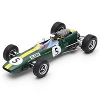 Spark Lotus 33 - 1st 1965 British Grand Prix - #5 J. Clark 1:18