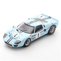 Spark Ford GT40 Mk.2B - 1st 1967 Reims 12 Hours - #1 1:18