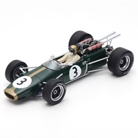 Spark Brabham BT24 - 1st 1967 French Grand Prix - #3 J. Brabham 1:18