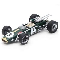 Spark Brabham BT24 - 1968 South African Grand Prix - #3 J. Rindt 1:18