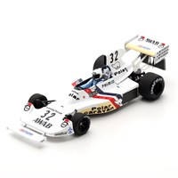 Spark Hesketh 308 - 1975 Swedish Grand Prix - #32 T. Palm 1:43
