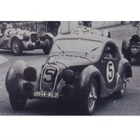 Spark Talbot Lago T 150 SS - 3rd 1938 Le Mans 24 Hours - #5 1:43
