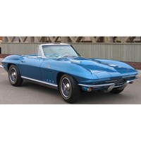 Spark Chevrolet Corvette C2 Sting Ray Convertible 1964 - 1:43