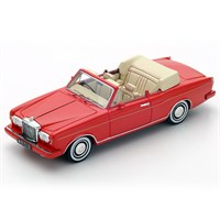 Bentley Continental Convertible 1984 - Red 1:43