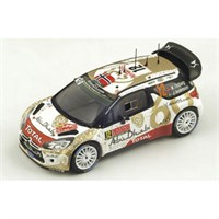 Spark Citroen DS3 WRC - 2015 Monte Carlo Rally - #12 M. Ostberg 1:43