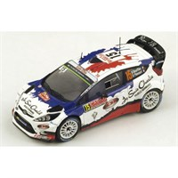 Spark Ford Fiesta WRC - 2015 Monte Carlo Rally - #15 B. Bouffier 1:43
