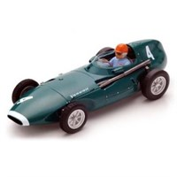 Spark Vanwall VW5 - 1st 1958 Belgian Grand Prix - #4 T. Brooks 1:43