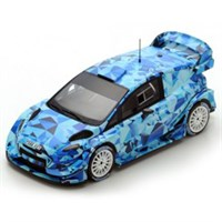 Spark Ford Fiesta WRC - 2017 Test Car - 1:43