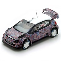Spark Citroen C3 WRC - 2017 Test Car - 1:43