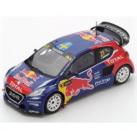 Peugeot 208 WRX - 1st 2015 World RX of France - #21 T. Hansen 1:43