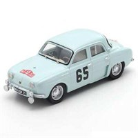 Spark Renault Dauphine - 1st 1958 Monte Carlo Rally - #65 J. Feret 1:43