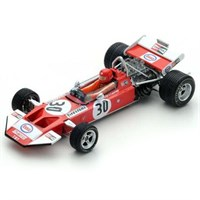 Spark Surtees TS7 - 1971 Dutch Grand Prix - #30 G. Van Lennep 1:43