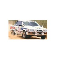 Spark Subaru RX Turbo - 1985 Safari Rally - #29 C. Vitulli 1:43