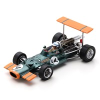 Spark BRM P138 - 1969 Spanish Grand Prix - #14 J. Surtees 1:43