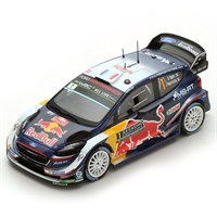 Spark Ford Fiesta WRC - 1st 2018 Monte Carlo Rally - #1 S. Ogier 1:43