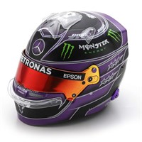 Spark Lewis Hamilton Mercedes Helmet - 2020 Turkish Grand Prix 1:5