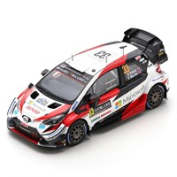 Spark Toyota Yaris WRC - 1st 2020 Rally Sweden - #33 E. Evans 1:43