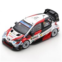 Spark Toyota Yaris WRC - 1st 2020 Rally Monza - #17 S. Ogier 1:43