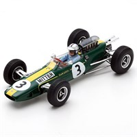 Spark Lotus 25 - 1965 German Grand Prix - #3 G. Mitter 1:43