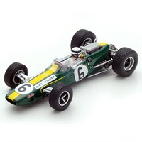 Spark Lotus 33 - 1967 Canadian Grand Prix - #6 M. Fisher 1:43