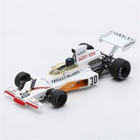 Spark McLaren M23 - 1973 German Grand Prix - #30 J. Ickx 1:43