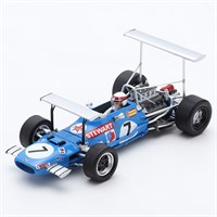 Spark Matra MS10 - 1st 1969 South African Grand Prix - #7 J. Stewart 1:43