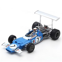 Spark Matra MS80 - 1st 1969 Spanish Grand Prix - #7 J. Stewart 1:43