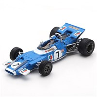 Spark Matra MS80 - 1969 French Grand Prix - #7 J-P. Beltoise 1:43