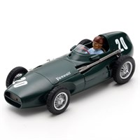 Spark Vanwall VW5 - 1957 Monaco Grand Prix - #20 T. Brooks 1:43