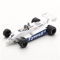Spark Tyrrell 011 - 1982 South African Grand Prix - #4 S. Borgudd 1:43