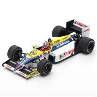 Spark Williams FW11 - 1st 1986 Belgian Grand Prix - #5 N. Mansell 1:43